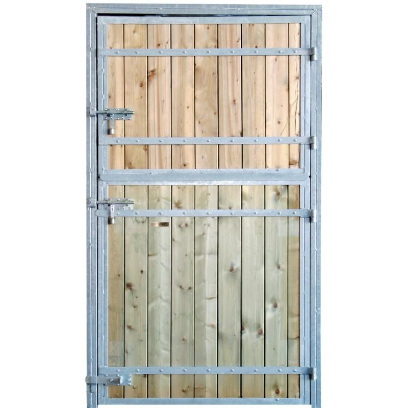 Porte de box compl te mod le standard for Porte standard largeur