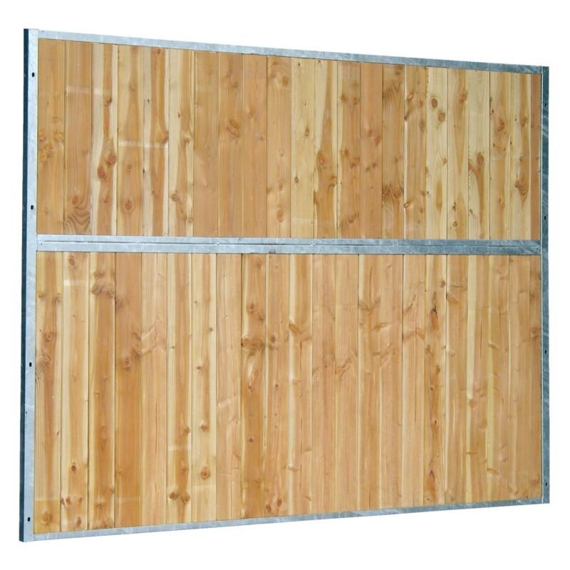 S paration de box fixe plaine bois curie levage haras chevaux centre questre - Separation en bois ...
