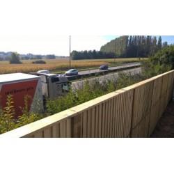 mur-anti bruit en bois garantie 25 ans - Panneau Anti Bruit Exterieur Particulier