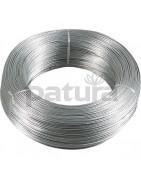 fils aluminium, acier, gaines.