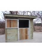 Abris, boxes, bois traité classe 4